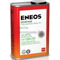 Масло моторное ENEOS Gasoline SN 0W-20 Ecostage (1л) 8801252022015