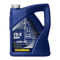 Масло моторное MANNOL TS-5 UHPD 10W40 (5л)