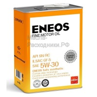 Масло моторное ENEOS FINE MOTOR OIL SN 5W-30 (4л) 4943589134833