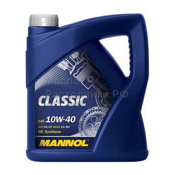 Масло моторное Mannol Classic 10W-40 (4л) 1101