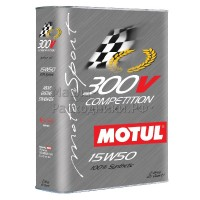 Масло моторное Motul 300V Competition 15W-50 (2л) 104244