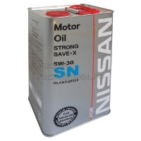 Масло моторное Nissan Strong Save-X 5W-30 SN (Fanfaro) (4л)