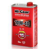 HI-GEAR масло моторное SYNTHETIC BLEND 10W-40 (1л) 	HG1110