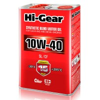 HI-GEAR масло моторное SYNTHETIC BLEND 10W-40 (4л) HG1114
