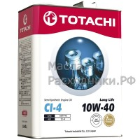 Масло моторное TOTACHI Diesel Long Life Semi-Synthetic CI-4 10W-40 (6л) 4562374690585