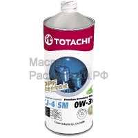 Масло моторное TOTACHI Diesel Premium Economy Fully Synthetic CJ-4/SM 0W-30 (1л) 4562374690783