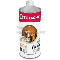 Масло моторное TOTACHI Gasoline Grand Touring Fully Synthetic SN 5W-40 (1л) 4562374690837