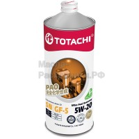 Масло моторное TOTACHI Gasoline Ultra Fuel Economy Fully Synthetic SN 5W-20 (1л) 4562374690653