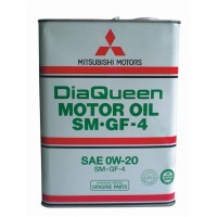 Масло моторное 7805610 Mitsubishi DiaQueen 0W-20 SM, (4л)