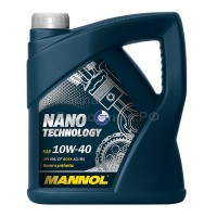 Масло моторное Mannol Nano Technology 10W-40 (4л) 1153