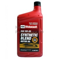 Масло моторное Ford Motorcraft 5W20 Premium Syntetic blend (0,946л)