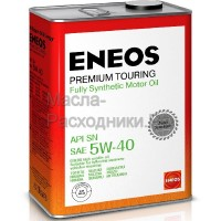 Масло моторное ENEOS Premium TOURING SN 5W-40 (4л) 8809478942162