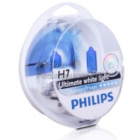 Автолампы H7 12972 DV 12V 55W S2 DIAMOND VISION 12972DVS2 PHILIPS (комплект 2 шт)