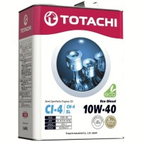 Масло моторное TOTACHI Diesel Eco Semi-Synthetic CI-4/CH-4/SL 10W-40 (6л) 4562374690530