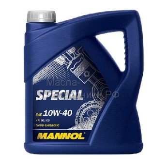 Масло моторное MANNOL Special 10W40 (4л)