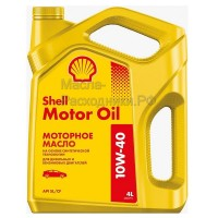 Масло моторное Shell Motor Oil 10W-40 (4л) 550051070