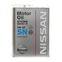 Масло моторное KLAN3-05304 Nissan Strong Save-X 5W30 SN (4л)