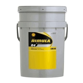 Масло моторное Shell Rimula R4 15W40 (17,5 кг)