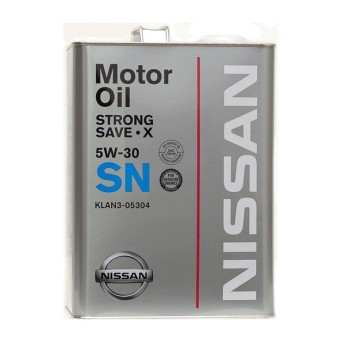 Масло моторное KLAN3-05302 Nissan Strong Save-X 5W-30 SN (20л)
