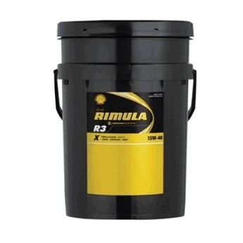 Масло моторное Shell Rimula R3 X 15W-40 (20л)