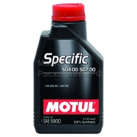 Масло моторное Motul Specific 504.00/507.00 (VW) 5W-30 (1л)