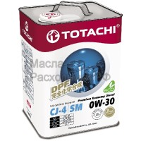 Масло моторное TOTACHI Diesel Premium Economy Fully Synthetic CJ-4/SM 0W-30 (6л) 4562374690806