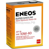 Масло моторное ENEOS Super Gasoline 10W-40 (4л) oil1357