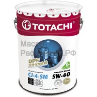 Масло моторное TOTACHI Diesel Premium Fully Synthetic CJ-4/SM 5W-40 (20л) 4562374690769