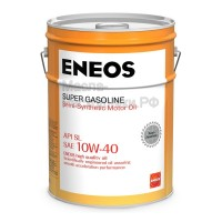 Масло моторное ENEOS Super Gasoline 10W-40 (20л) oil1356