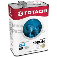 Масло моторное TOTACHI Diesel Long Life Semi-Synthetic CI-4 10W-40 (4л)