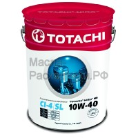 Масло моторное TOTACHI NIRO HD Semi-Synthetic CI-4/SL 10W-40 (19л) 4589904921667