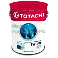 Масло моторное TOTACHI NIRO HD Synthetic CI-4,CH-4/SL 5W-40 (19л) 4589904921681