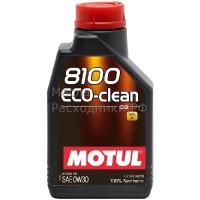 Масло моторное Motul 8100 Eco-clean 0W-30 (1л) 102888