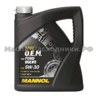 Масло моторное MANNOL O.E.M. for FORD VOLVO 5W-30 (4л)