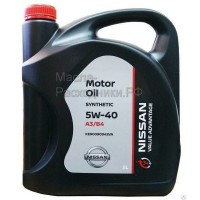 Масло моторное NISSAN 5W-40 VALUE ADVANTAGE (5л) KE90090042VA