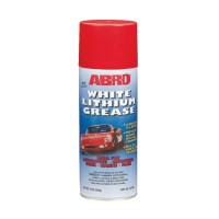 ABRO White Lithium Grease Смазка-аэрозоль (литиевая) 284 гр LG380