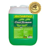Антифриз CoolStream Standart -40 (зеленый) (10кг) CS010203